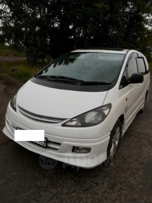 Toyota Estima, 2002 год, 519 000 руб.