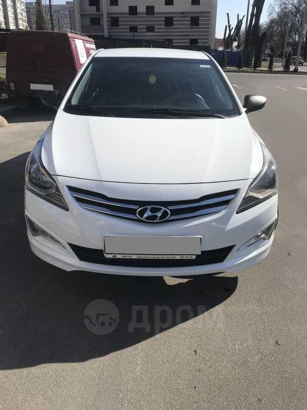 Hyundai Solaris, 2015 год, 448 000 руб.