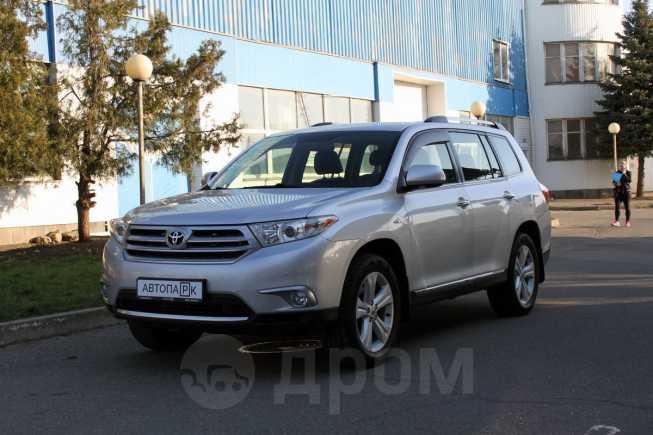 Toyota Highlander, 2012 год, 1 290 000 руб.