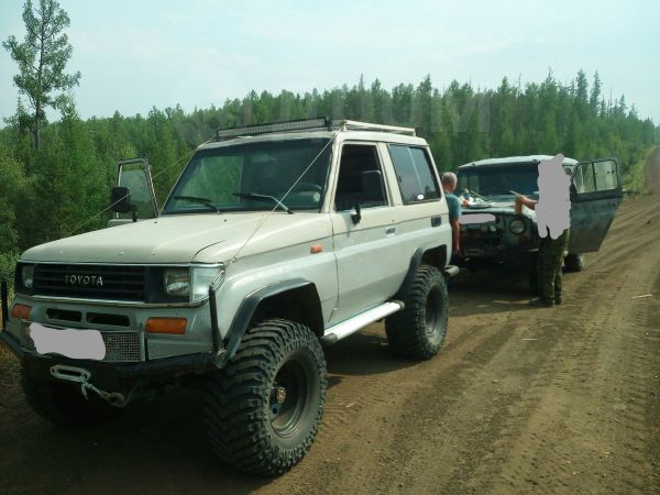 Toyota Land Cruiser, 1989 год, 400 000 руб.
