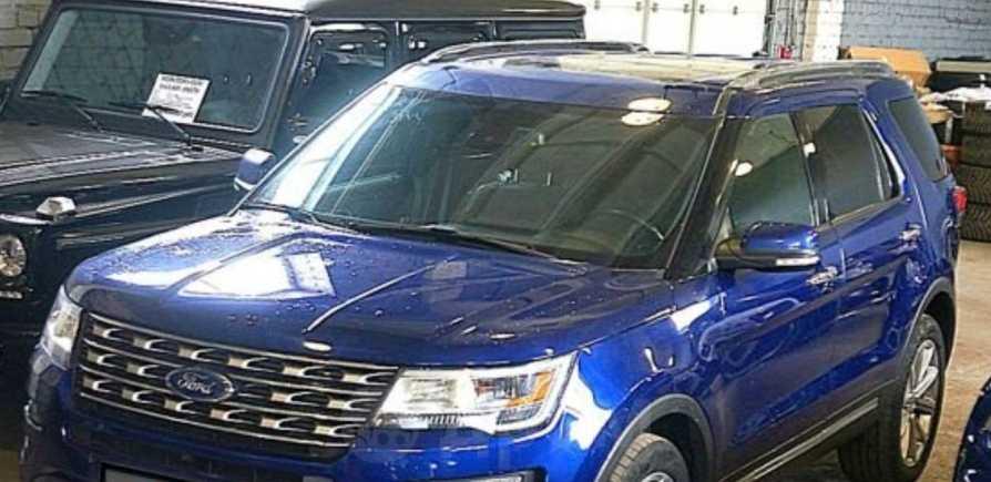 Ford Explorer, 2016 год, 1 850 000 руб.