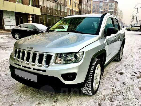 Jeep Compass, 2011 год, 800 000 руб.