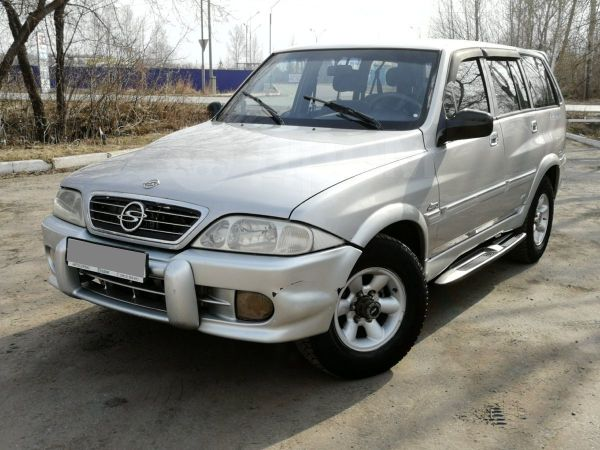 SsangYong Musso, 2000 год, 249 000 руб.
