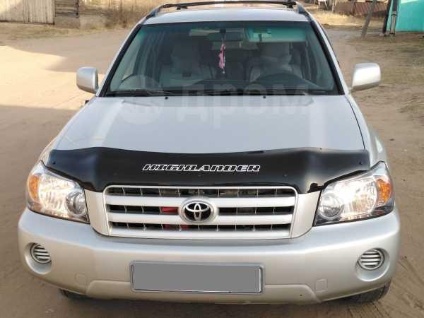 Toyota Highlander, 2004 год, 755 000 руб.