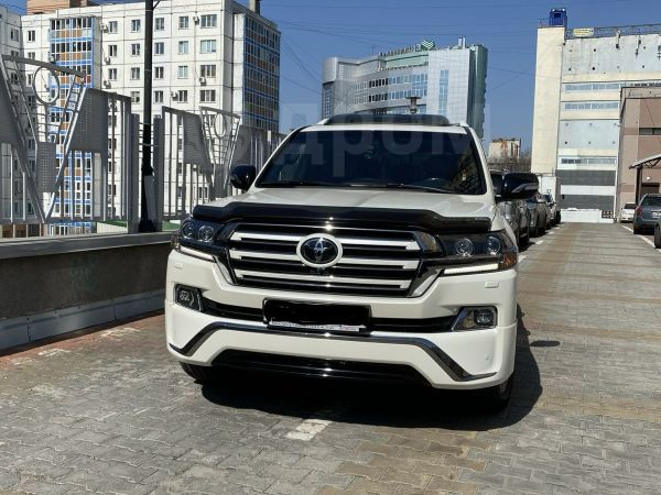 Toyota Land Cruiser, 2017 год, 4 990 000 руб.