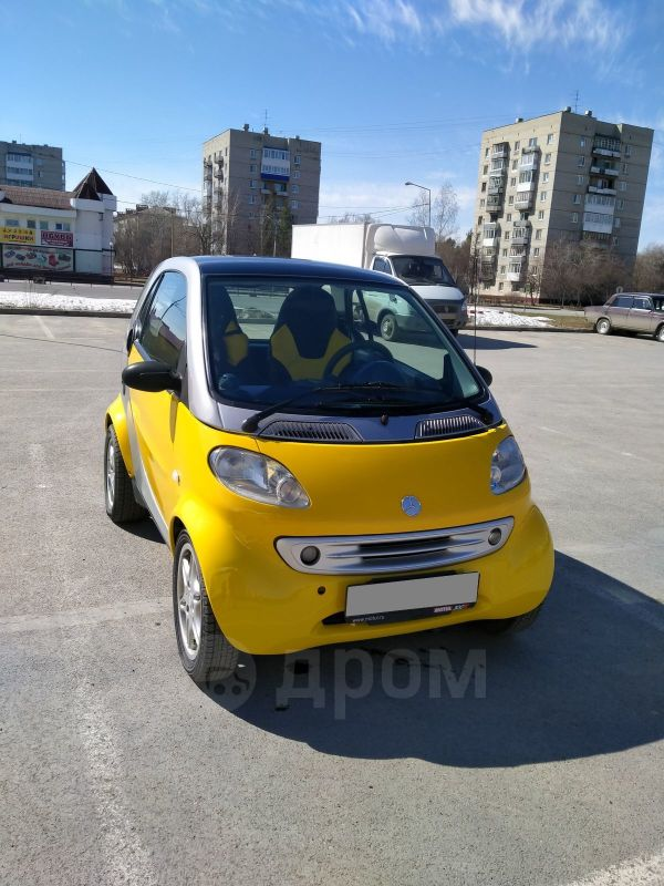 Smart Fortwo, 2000 год, 235 000 руб.
