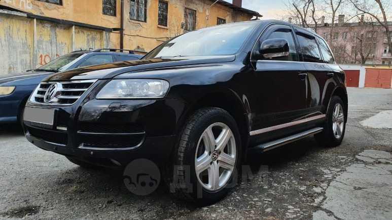 Volkswagen Touareg, 2005 год, 570 000 руб.