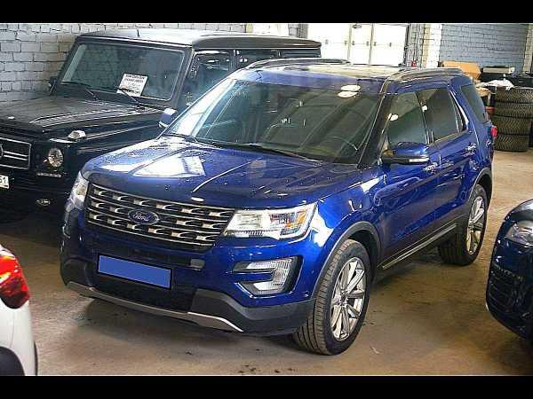 Ford Explorer, 2016 год, 1 990 000 руб.