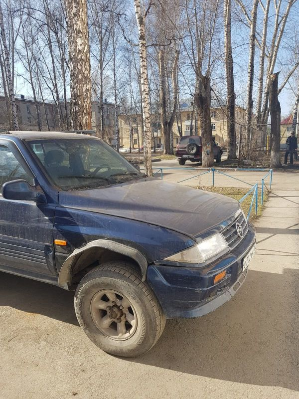 SsangYong Musso, 1997 год, 80 000 руб.