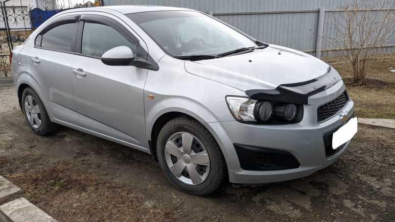 Chevrolet Aveo, 2013 год, 449 000 руб.
