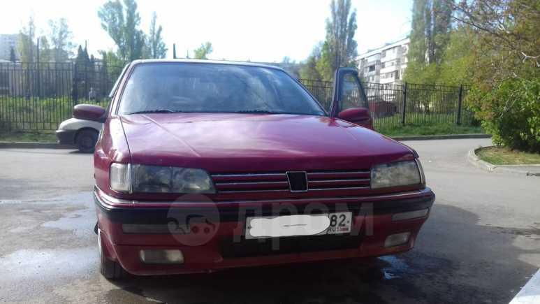 Peugeot 605, 1991 год, 105 000 руб.
