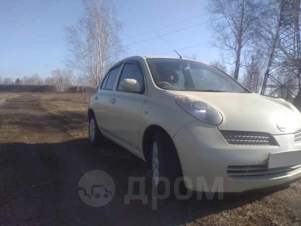 Nissan March, 2002 год, 185 000 руб.