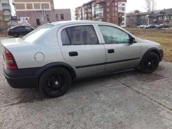 Opel Astra, 2002 год, 135 000 руб.