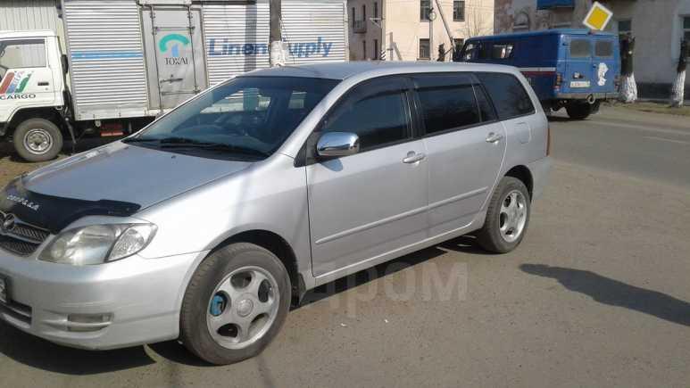 Toyota Corolla Fielder, 2003 год, 420 000 руб.