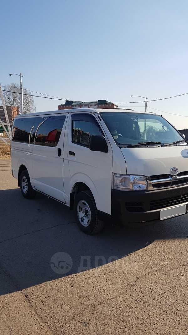 Toyota Hiace, 2010 год, 1 158 000 руб.