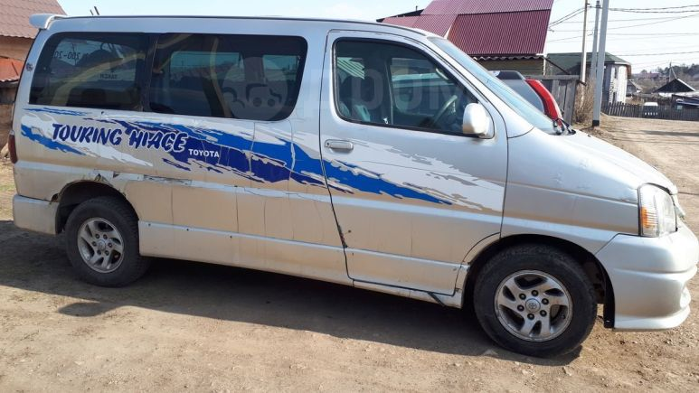 Toyota Touring Hiace, 2001 год, 240 000 руб.