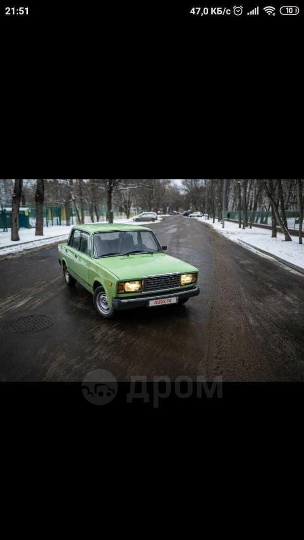 Лада 2107, 1984 год, 85 000 руб.