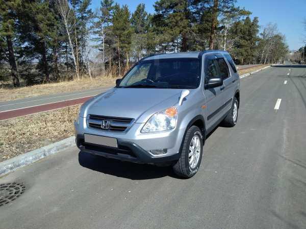 Honda CR-V, 2001 год, 465 000 руб.
