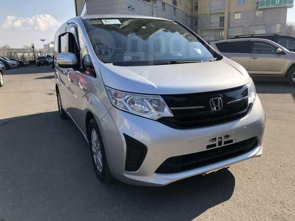Honda Stepwgn, 2017 год, 1 065 000 руб.