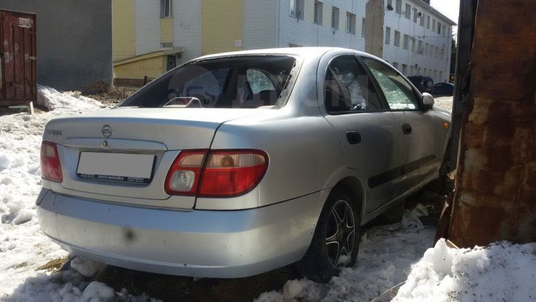 Nissan Almera, 2003 год, 80 000 руб.