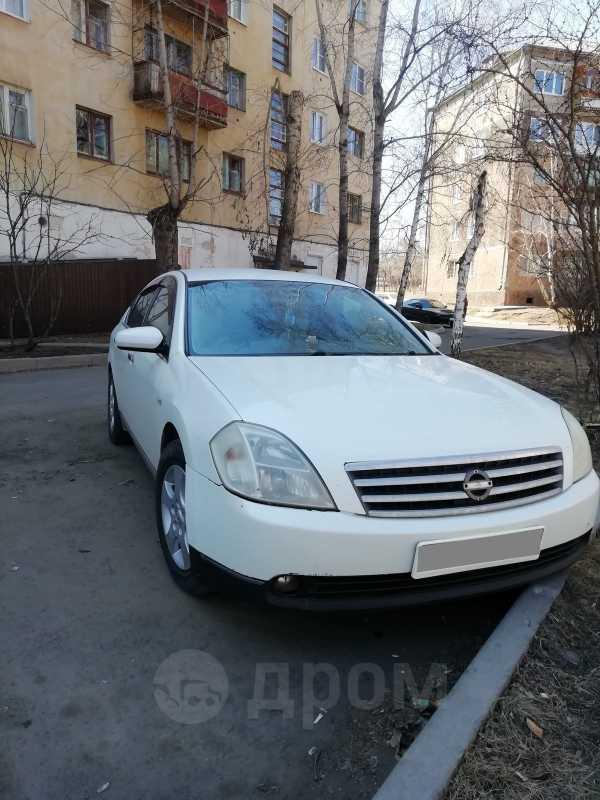 Nissan Teana, 2003 год, 299 999 руб.