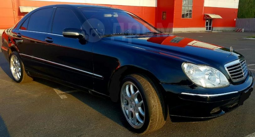 Mercedes-Benz S-Class, 2001 год, 278 000 руб.