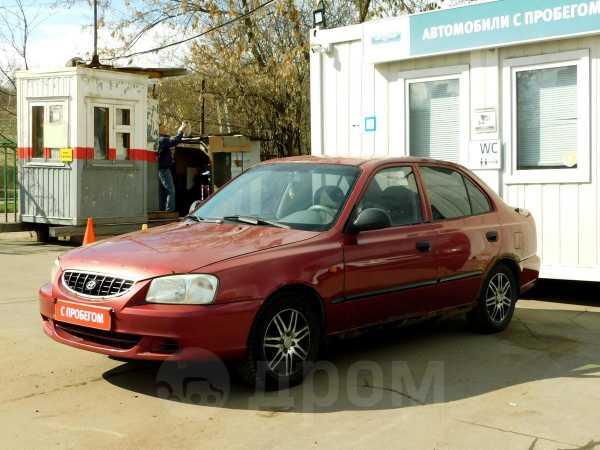 Hyundai Accent, 2004 год, 100 000 руб.