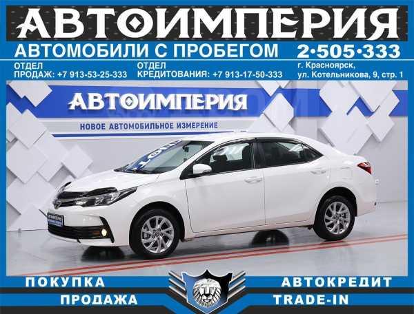 Toyota Corolla, 2016 год, 918 000 руб.
