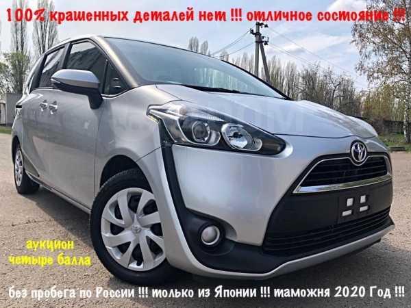 Toyota Sienta, 2015 год, 900 000 руб.
