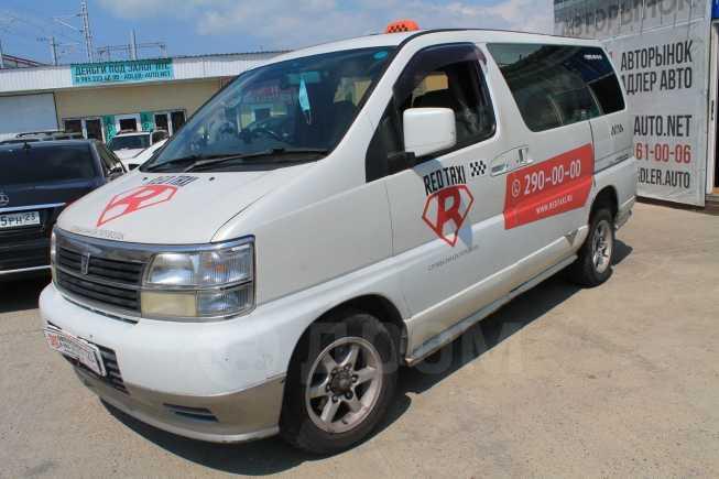 Nissan Caravan Elgrand, 1999 год, 435 000 руб.