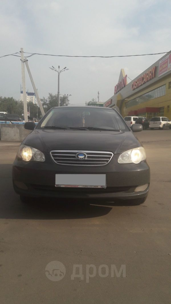 BYD F3, 2007 год, 160 000 руб.