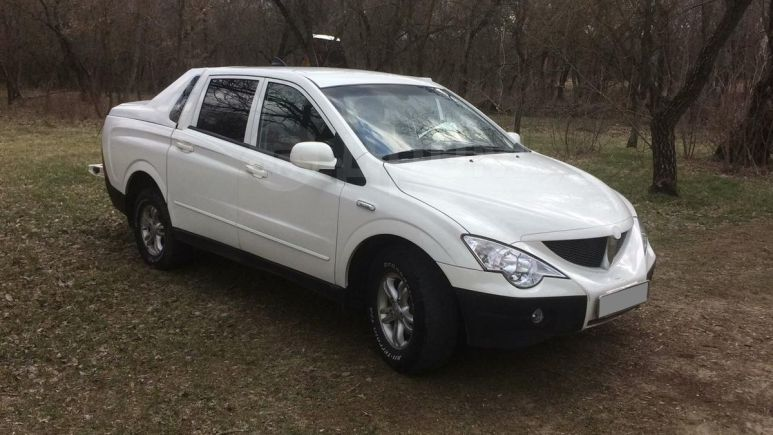 SsangYong Actyon Sports, 2011 год, 450 000 руб.