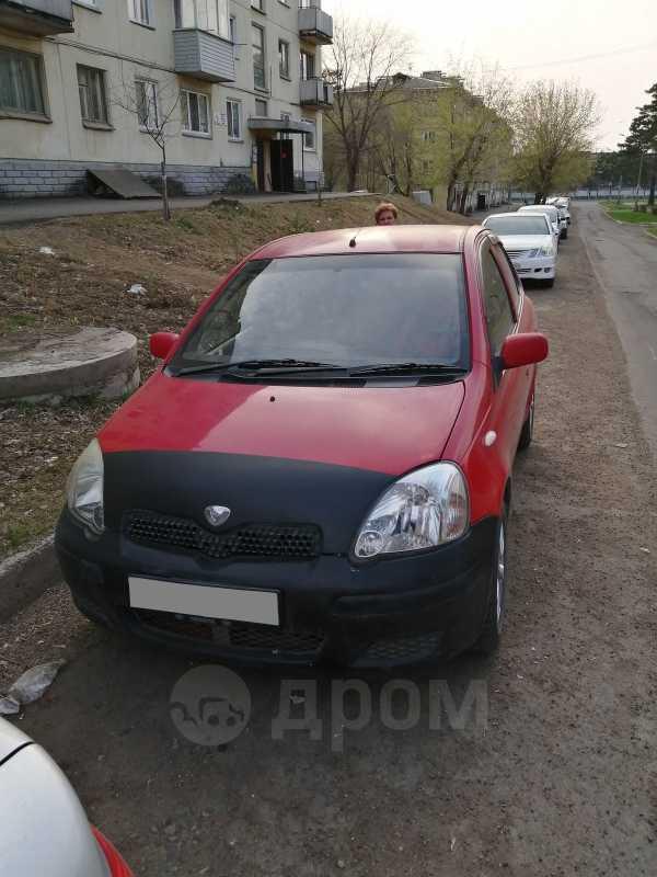 Toyota Vitz, 2001 год, 185 000 руб.