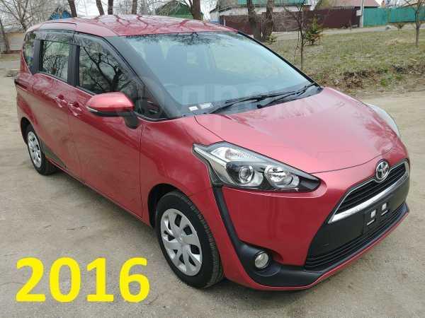 Toyota Sienta, 2016 год, 680 000 руб.