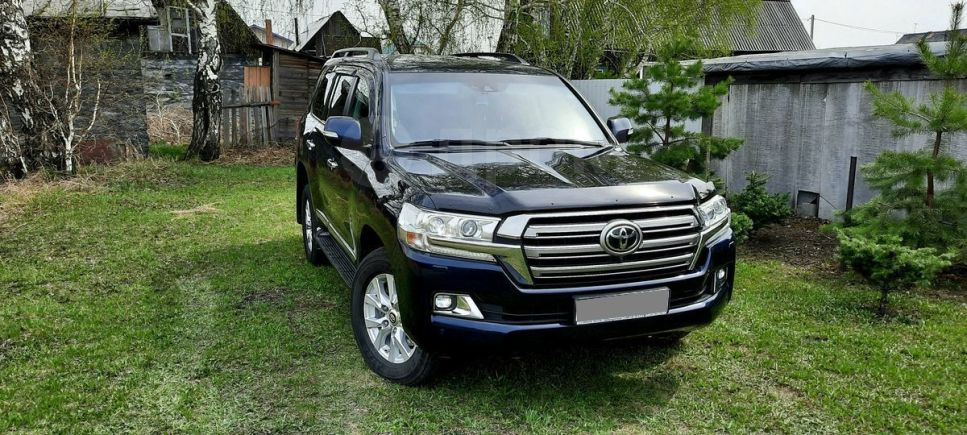 Toyota Land Cruiser, 2016 год, 3 200 000 руб.