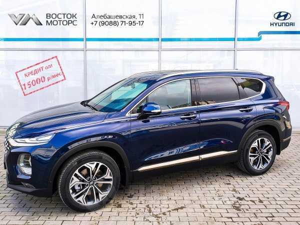 Hyundai Santa Fe, 2019 год, 2 814 000 руб.