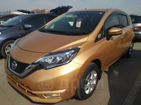 Nissan Note, 2016 год, 598 000 руб.