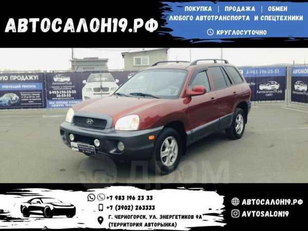 Hyundai Santa Fe, 2001 год, 393 000 руб.