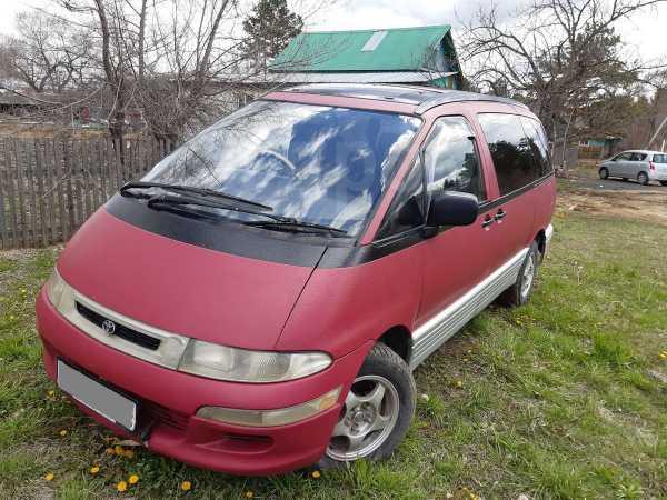 Toyota Estima Emina, 1993 год, 205 000 руб.