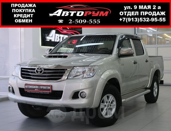 Toyota Hilux Pick Up, 2012 год, 1 117 000 руб.