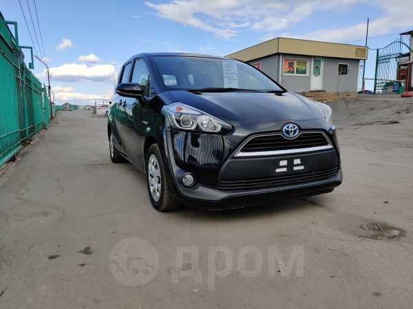 Toyota Sienta, 2015 год, 760 000 руб.
