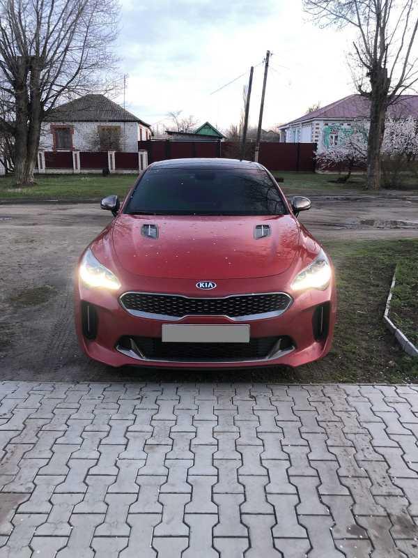 Kia Stinger, 2018 год, 1 590 000 руб.