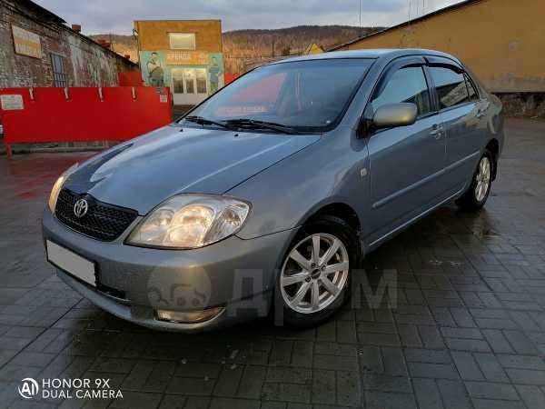 Toyota Corolla, 2002 год, 268 000 руб.