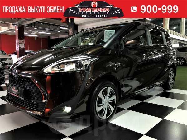 Toyota Sienta, 2018 год, 919 000 руб.