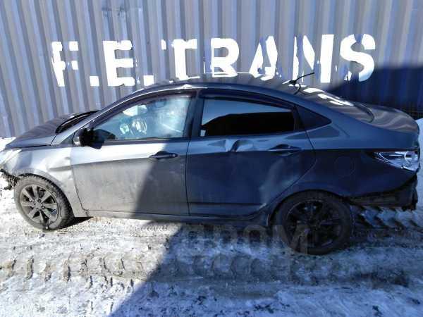 Hyundai Solaris, 2011 год, 135 000 руб.