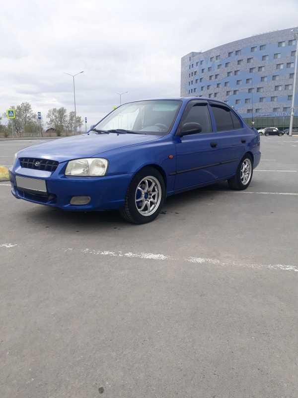 Hyundai Accent, 2003 год, 175 000 руб.