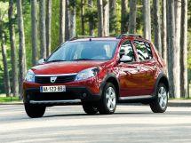 Dacia Sandero Stepway 1 поколение, 06.2009 - 12.2012, Хэтчбек 5 дв.