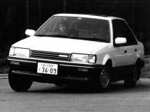 Mazda Familia 1985, седан, 6 поколение, BF