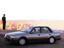 Mazda Familia рестайлинг 1987, седан, 6 поколение, BF