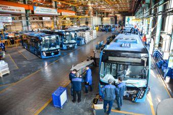 Производство автобусов в России загрузят на 100%